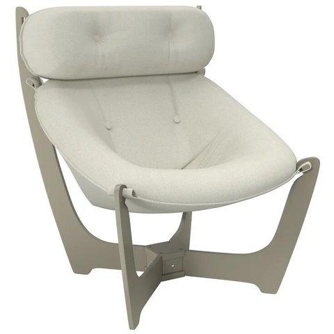 Кресло для отдыха Комфорт Модель 11 серый ясень/Malta 01A