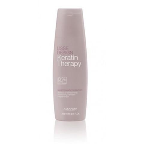 Alfaparf Milano Lisse Design: Кератиновый шампунь для гладкости волос (Maintenance Shampoo), 250мл