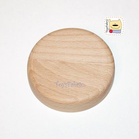 Подставка для кукол круглая без крепления (бук)