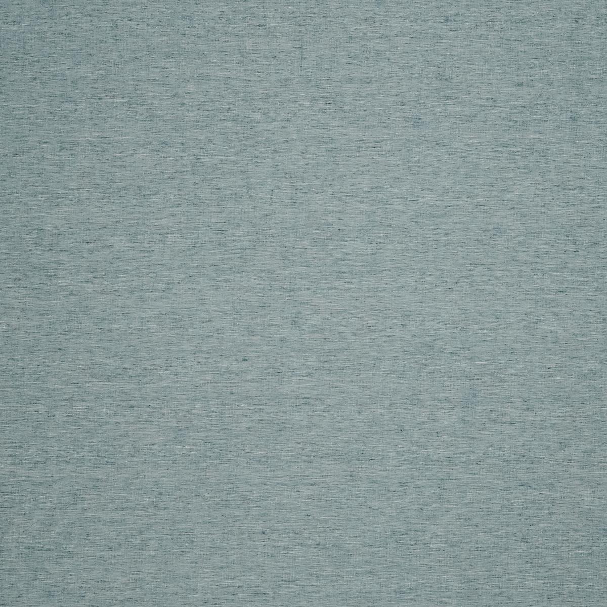 Упругая льняная ткань из нитей цвета морской волны с добавлением шёлка