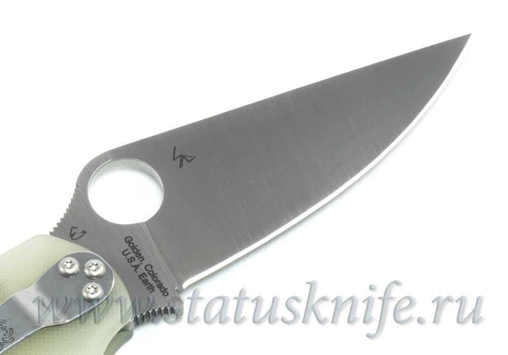Нож Spyderco Paramilitary 2 C81GM4P2  limited - фотография