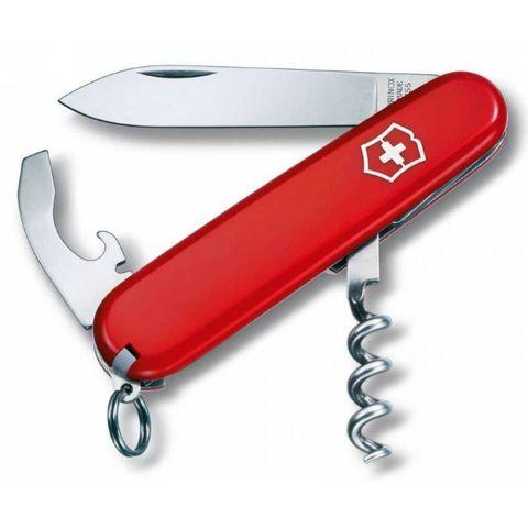 Нож перочинный Victorinox Waiter (0.3303) 84мм 9функций красный