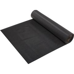 Коврик-дорожка против скольжения Полоска, черный, 2,3 мм, 0,9*10 м