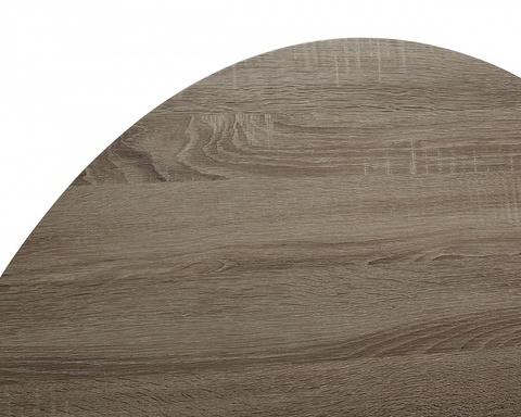 Стол журнальный WOOD85 #4 дуб серо-коричневый винтажный M-city, Материал каркаса: Металл, Цвет каркаса: Чёрный, Материал столешницы: МДФ ламинированный, Цвет столешницы: Дуб серо-коричневый винтажный, Цвет: Дуб