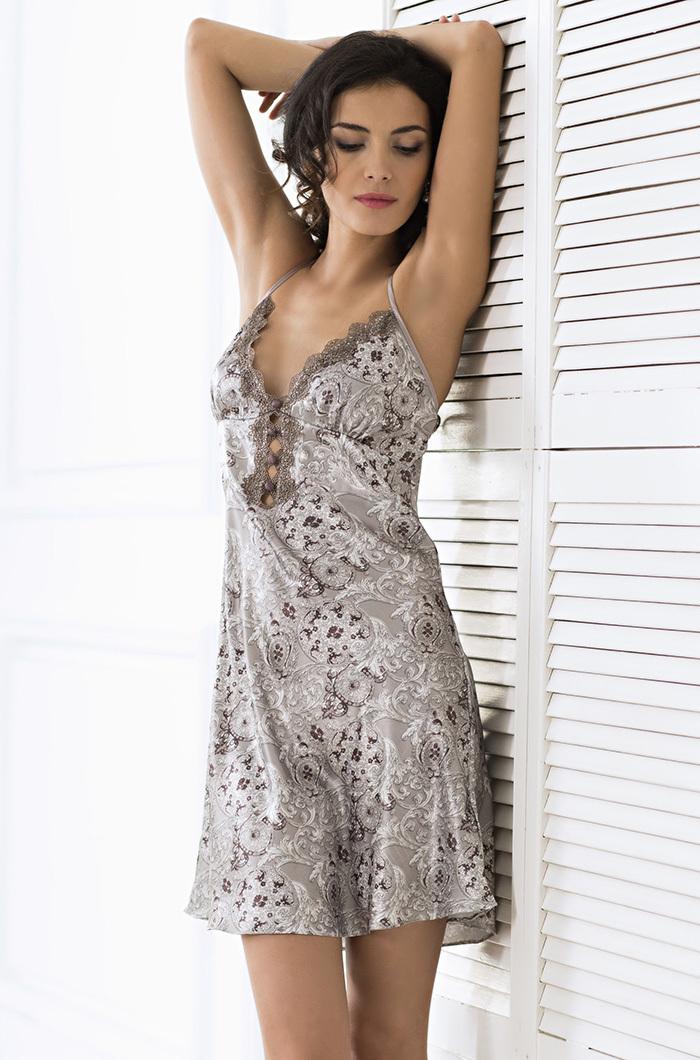 шелк искусственный Сорочка ночная женская MIA-AMORE  Стелла  9291 9291.jpg