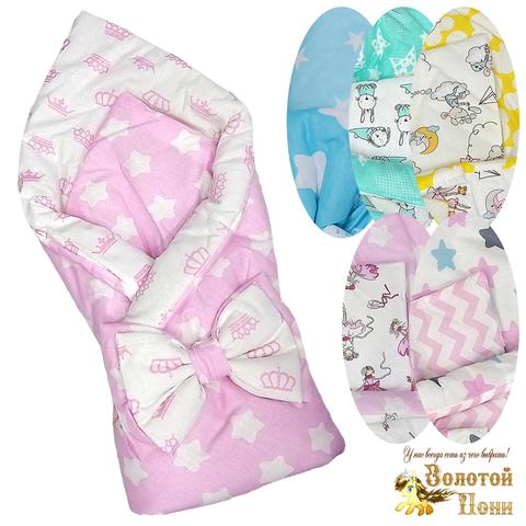 Одеяло+бант на резинке (0+) 210414-Ф41202