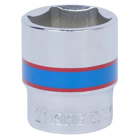 "Головка торцевая стандартная шестигранная 3/8"", 21 мм KING TONY 333521M"
