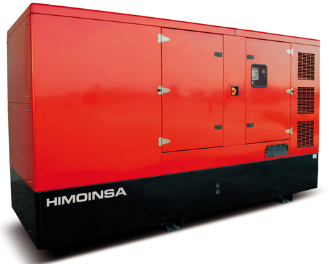 Дизельный генератор Himoinsa HSW-300 T5 в кожухе