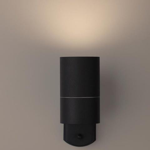 Декоративная подсветка ЭРА WL27 BK GU10 IP54 черный