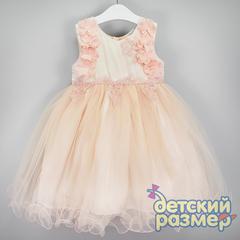 Платье (кружево, сетка, цветы)