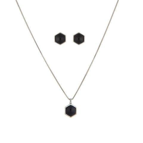 Комплект black agate S0480.4 BW/S