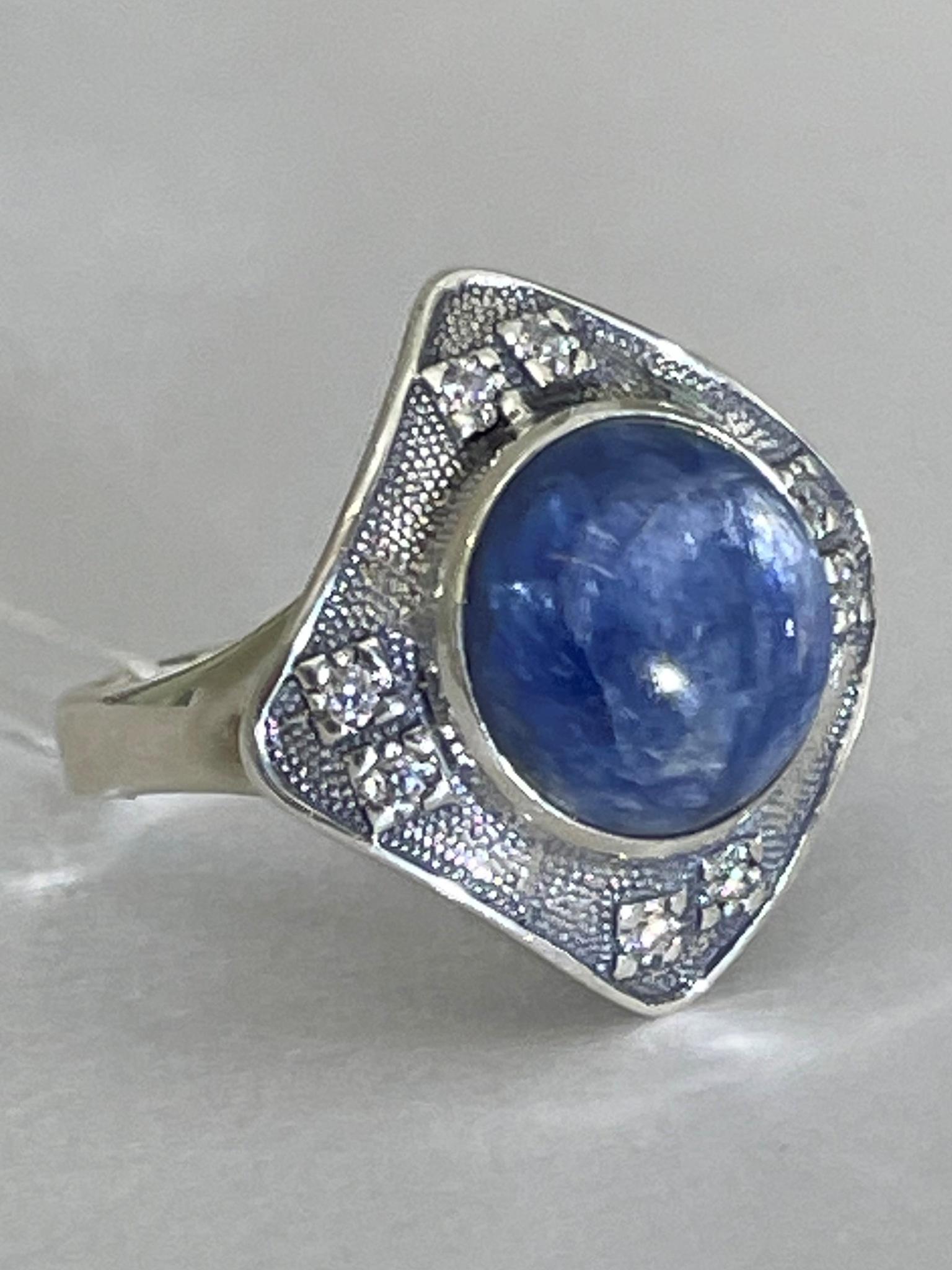Аргайл (кольцо  из серебра)