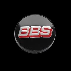 Крышка центрального отверстия BBS 56.0 мм silver/red/black