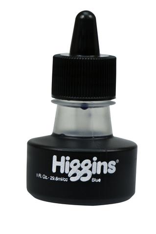 Чернила HIGGINS BLUE Dye-Based 1 OZ, 29,6 мл