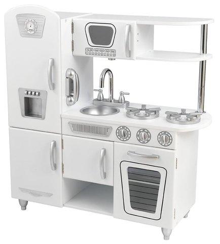 KidKraft Винтаж Vintage в подарочной упаковке (белая) - детская кухня 53402_KE