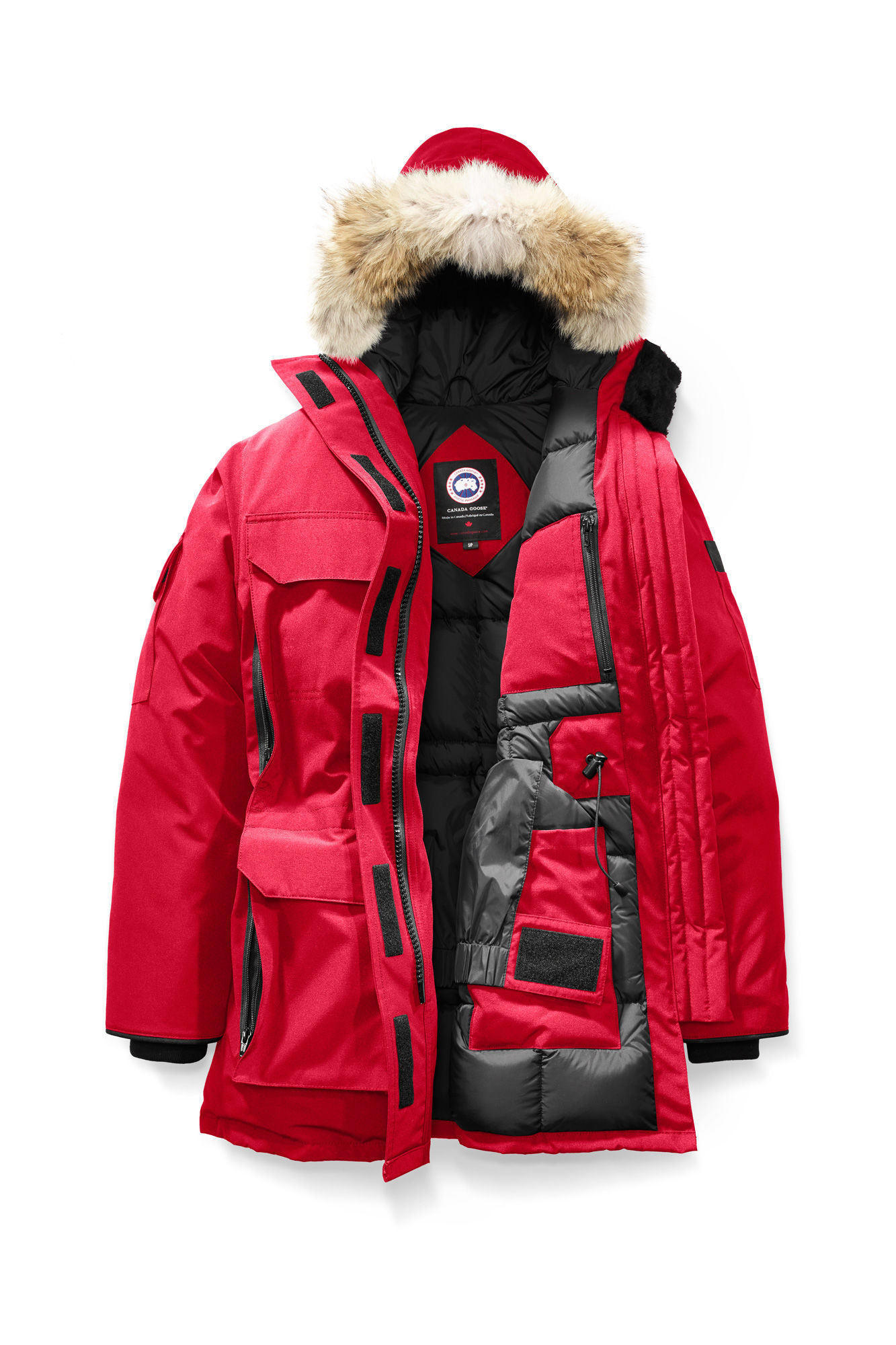 EXPEDITION PARKA WOMEN'S RED 4572