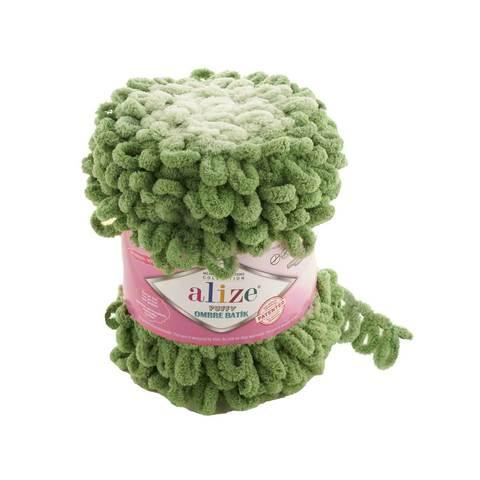 Купить Пряжа Ализе Пуффи Омбре Батик - цвет 7423 | Интернет-магазин пряжи «Пряха»
