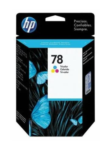 Оригинальный картридж струйный HP C6578DE (№78) многоцветный