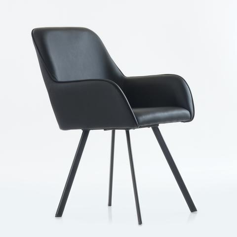 Интерьерное кресло Moby / UWK-21 / Экокожа / Ткань