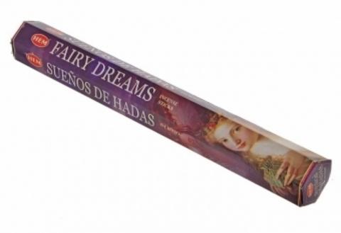 Благовония HEM Fairy Dreams Волшебные мечты (20 шт)