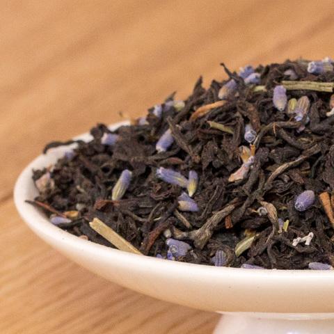 Чай с лавандой
