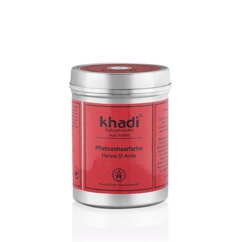 Хна для волос с Амлой Khadi Naturprodukte, 150 гр