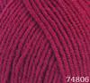 Пряжа LANA LUX 74806 (Т.малина)