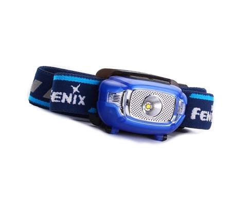 Фонарь светодиодный налобный Fenix HL15 синий, 200 лм, 2-ААА