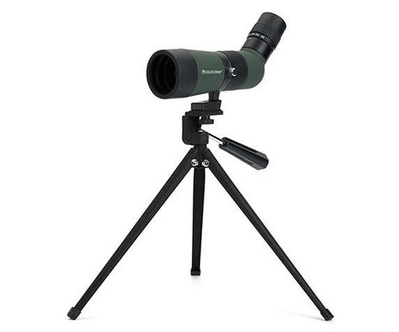 Зрительная труба LandScout 50 10-30 50 на штативе
