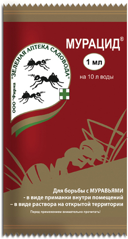 Инсектицид Мурацид от садовых муравьев