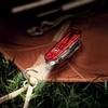 Нож Victorinox Huntsman Lite, 91 мм, 21 функция, полупрозрачный красный