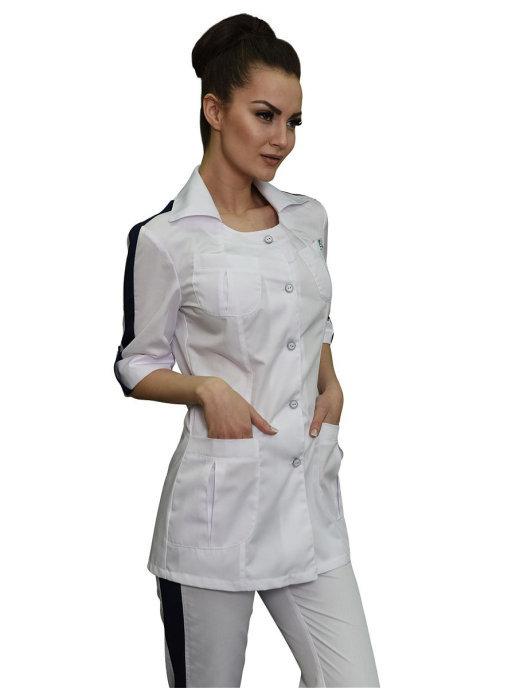 Женский костюм медицинский Бл-338+Б-115а сатори