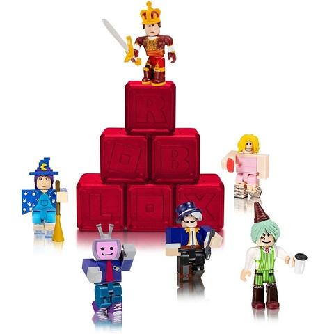 Роблокс Тайный набор Знаменитостей из 6 штук, серия 5 Алые
