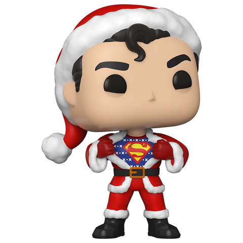 Фигурка Funko POP! Vinyl: DC: Holiday: Superman w/Sweater 50651