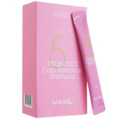Набор - Шампунь с пробиотиками для защиты цвета Masil 5 Probiotics Color Radiance Shampoo, 8 мл, 20 шт.