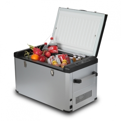 Компрессорный автохолодильник COLKU DC60-F (12V/24V/220V, 60л)