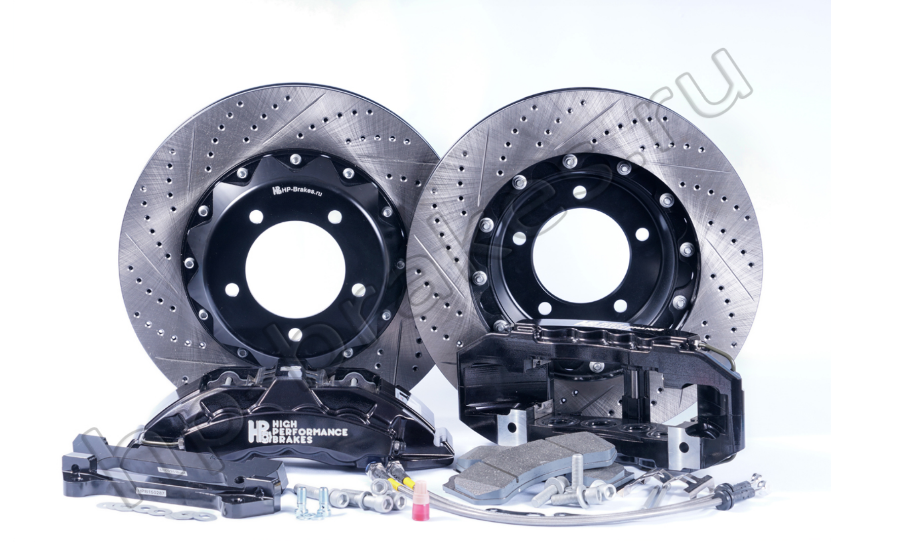 Brake system HP Brakes (Front axle, D22, 8 pistons, disc 430x36mm)