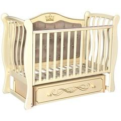 Кроватка Антел Julia (Джулия) 333 универсальный маятник,ящик,слоновая кость