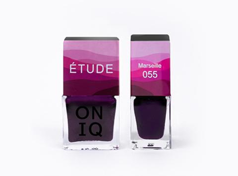 ONP-055 Лак для покрытия ногтей с эффектом акварели Triptych ETUDE: Marseille