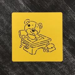Мишка ученик №4