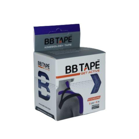BBtape кинезио тейп 5см х 5м (синий) NEW
