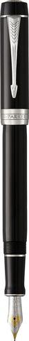1931365 Parker Duofold Classic Black CT Centennial Fountain Pen перьевая ручка