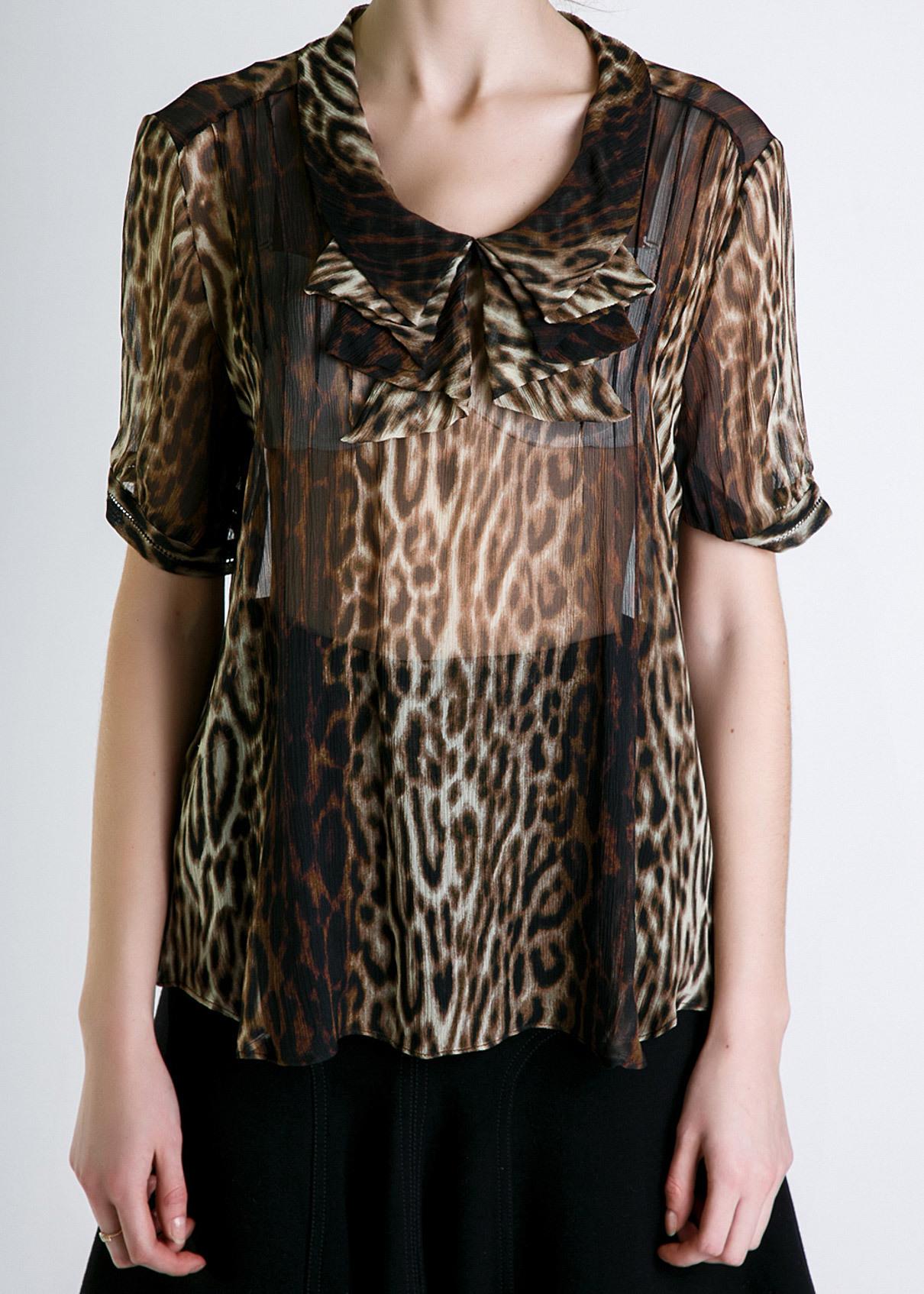 Блуза из шелка JASON WU