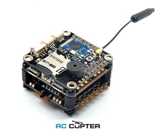 Полётный контроллер RacerCube F3 EVO, Frsky Protocol 8CH PPM/SBUS Receiver, ESC, OSD
