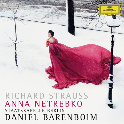 Anna Netrebko, Staatskapelle Berlin, Daniel Barenboim / Richard Strauss: Four Last Songs, A Hero's Life (RU)(CD)