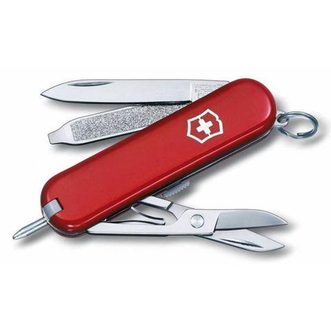 Нож перочинный Victorinox Signature (0.6225) 58мм 7функций красный