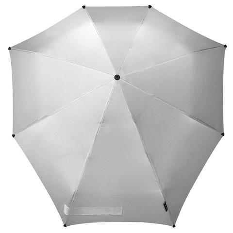 Зонт-автомат senz shiny silver