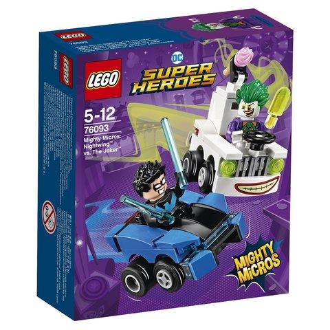 LEGO Super Heroes Mighty Micros: Найтвинг против Джокера 76093 —  Nightwing vs. The Joker  — Лего Супергерои ДиСи