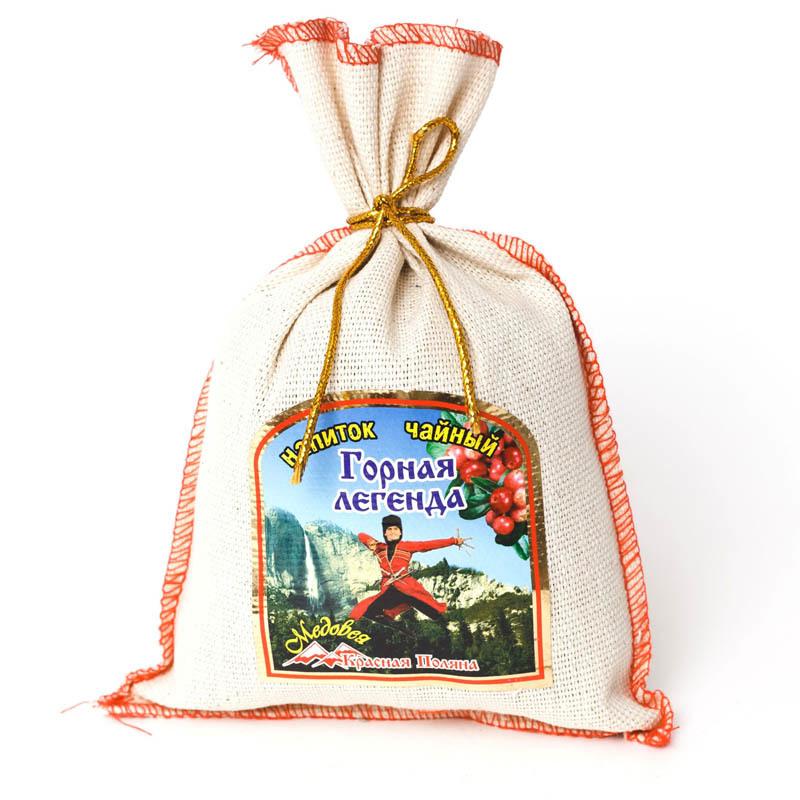 Чай Горная легенда в мешочке ТМ Красная Поляна