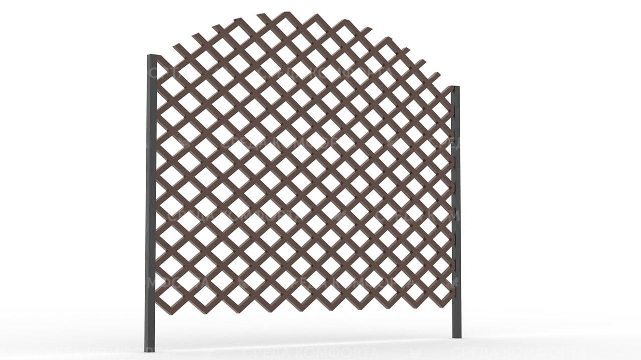 Деревянный забор ZBR0110